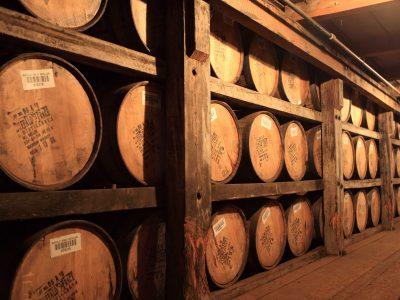 bourbon barrels Buffalo Trace distillery Kenucky