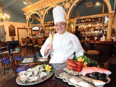 Chef Andrea Apuzzo, Italian