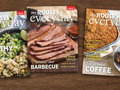 various covers Rouses Magazine