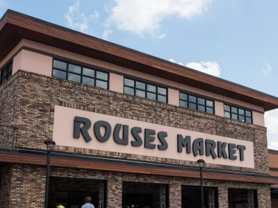 Brick exterior Rouses Markets Antioch Baton Rouge