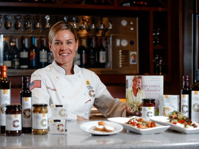 Chef Cat Cora at Rouses Tchoupitoulas New Orleans