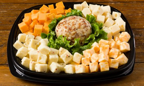 Rouses deli cheese tray, cheese cubes, catering