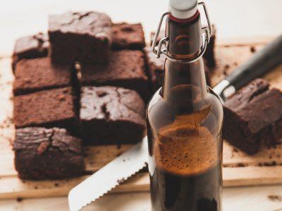 chocolate brownies dark beer