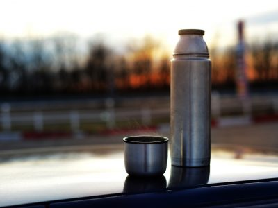 thermos of coffee