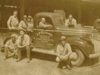 JP Rouse City Produce Truck