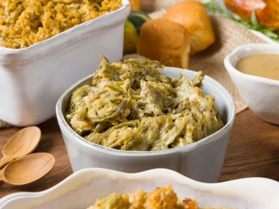 Rouses deli green bean casserole holidays catering