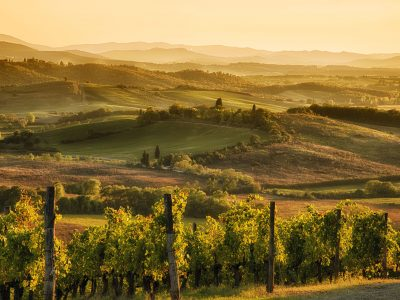 Tusdan region Italy