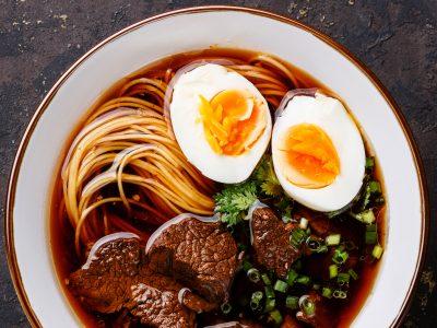 Yakamein Soup
