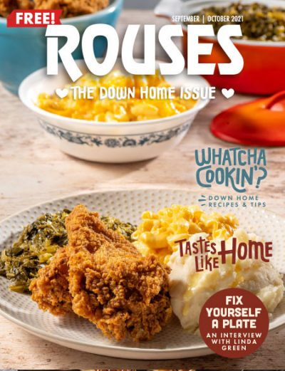 Cover of the current issue of Rouses Magazine